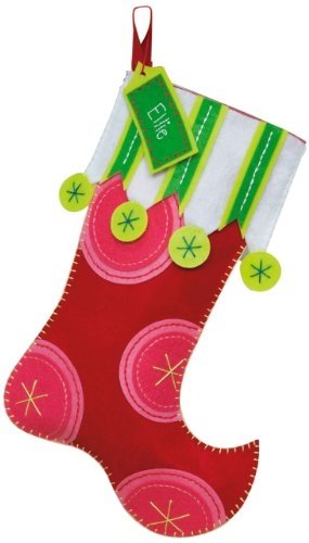 Dimensions Needlecrafts Felt Applique, Polka Dot Stocking