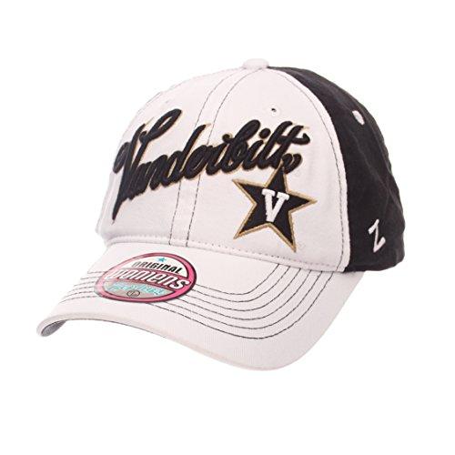 NCAA Vanderbilt Commodores Adult Women Vogue Women's Relaxed Hat, Adjustable, White/Team (Vogue Cap)