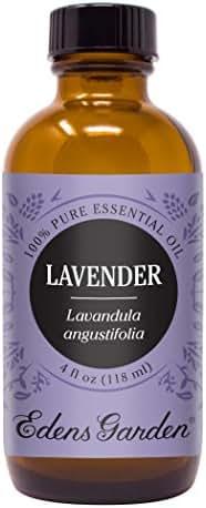 Edens Garden Lavender Essential Oil, 100% Pure Therapeutic Grade (Highest Quality Aromatherapy Oils- Skin Care & Stress), 118 ml