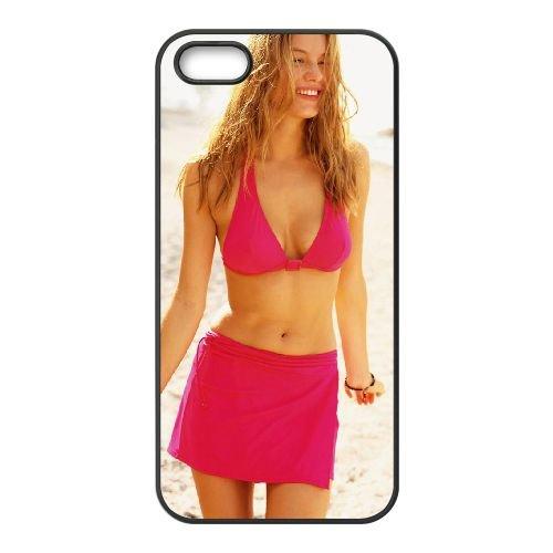 Hailey Rowe 002 coque iPhone 4 4S cellulaire cas coque de téléphone cas téléphone cellulaire noir couvercle EEEXLKNBC25549
