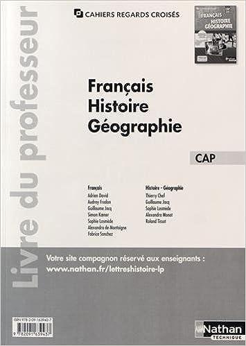 Téléchargement Français Histoire-Géographie Tome unique CAP epub, pdf