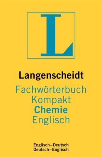 Langenscheidt Fachwörterbuch Kompakt Chemie, Englisch