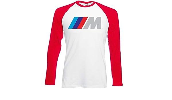 Camiseta Manga Larga T-Shirt Deportiva Hombre BMW Mpower Team ...