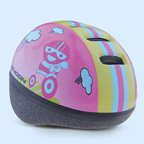 MOON Kid's Cycling Bike Helmet Road Mountain Racing Bike Helmets for Children-Durable Kid Bicycle Helmets CSPC Certified for Safety and Comfort