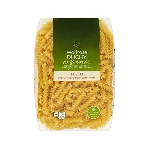 Duchy Waitrose Organic Fusilli 500g - Pack of 4 by Duchy from Waitrose