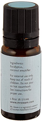 Mr. Steam 103810 Eucalyptus Essential Oil, 10 mL