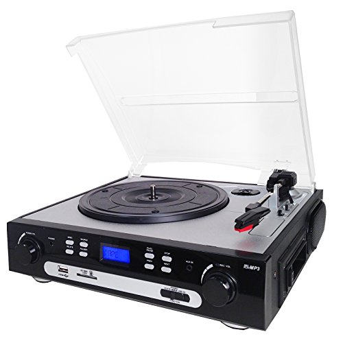 SuperSonic Retro Turntable System with Analog Conversion