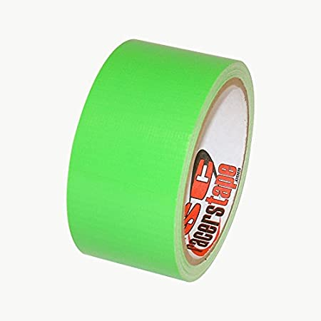 ISC Neon Standard-Duty Racer's Tape: 2 in. x 60 yds. (Fluorescent Yellow) RT3003N