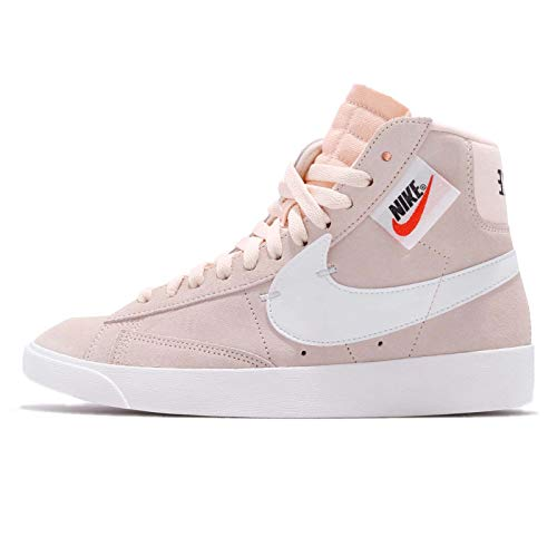 Nike Women's Blazer Mid Rebel, Guava ICE/Summit White-Black, 8 US
