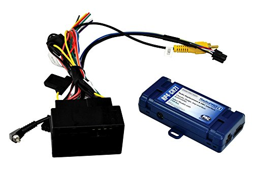 PAC RP4-CH21 Radio Replacement Interface with Steering Wheel Control Retention for Select Vehicles