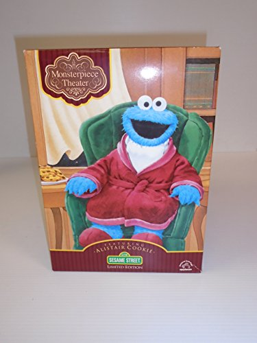 Sesame Street Monsterpiece Theater Featuring Allistair Cookie Limited Edition