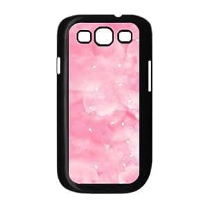 Samsung Galaxy S3 Cases Pink Romantic Petals, Samsung Galaxy S3 Cases Pink Flower, [Black]