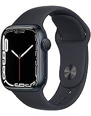 AppleWatch Series7 (GPS) • 41‐mm kast van inktblauw aluminium • Inktblauw sportbandje- Standaardmaat