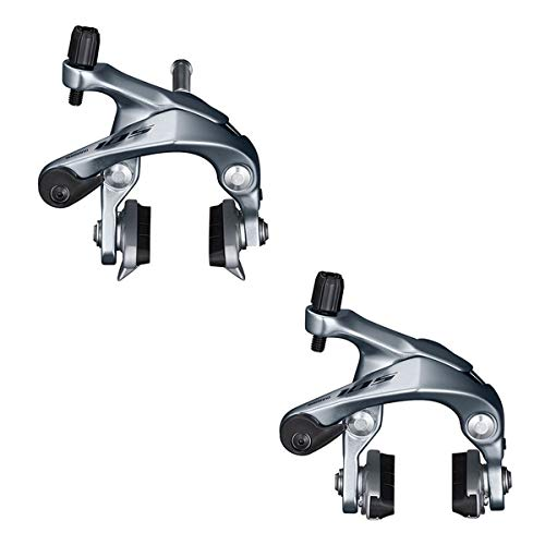 SHIMANO 105 Caliper Road Bicycle Brake Set - BR-R7000 (Silver)