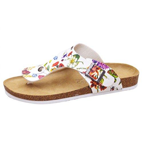 Girls Flip Sandals Toe Flops Open Slippers Thong Flower Heels Sandals Women's EqYSw