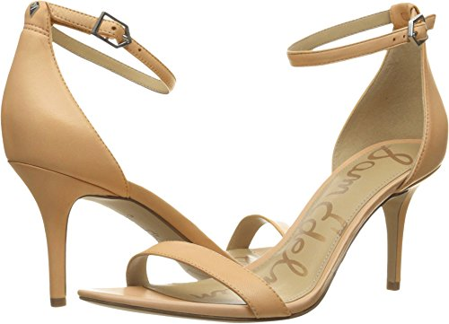 Sam Edelman Women's Patti Dress Sandal, Classic Nude Leather, 8.5 Wide US
