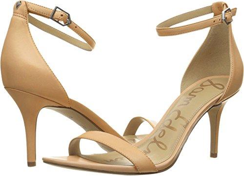 Sam Edelman Women's Patti Dress Sandal, Classic Nude Leather, 6 Wide US -