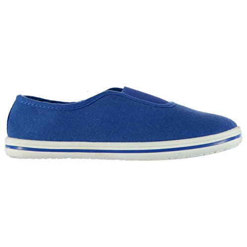 Slazenger Niños Canvas Slip On Shoes Para niños Royal
