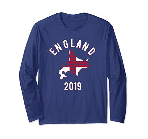 - England Rugby Ball Training Jersey English Rose Sapparo Top Long Sleeve T-Shirt