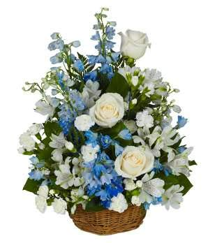 Funeral Basket - Same Day Funeral Flower Arrangements - Buy Flowers for Funeral - Send Funeral Flowers Delivery & Condolence Flowers Today