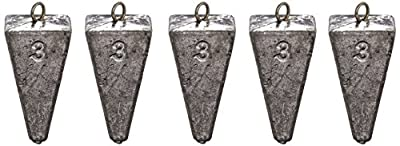 South Bend Pyramid Sinker, Pack of 5