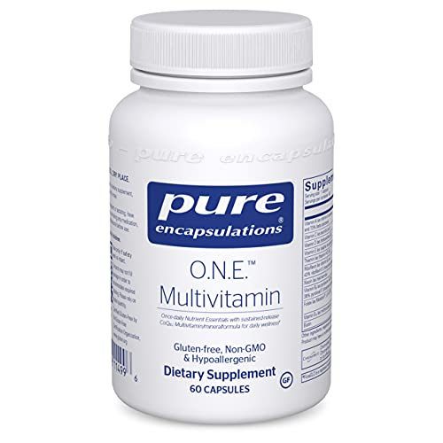 Pure Encapsulations O.N.E. Multivitamin | Once Daily Multivitamin with Antioxidant Complex Metafolin, CoQ10, and Lutein…