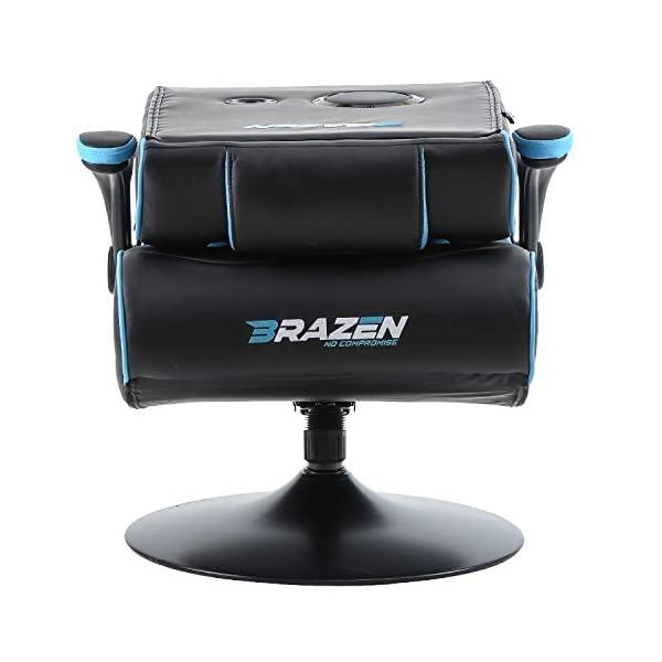 Peachy Brazen Panther Elite 2 1 Bluetooth Surround Sound Gaming Chair Creativecarmelina Interior Chair Design Creativecarmelinacom
