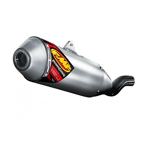 FMF Racing PowerCore 4 Spark Arrestor Slip-On , Material: Aluminum 041032 ()
