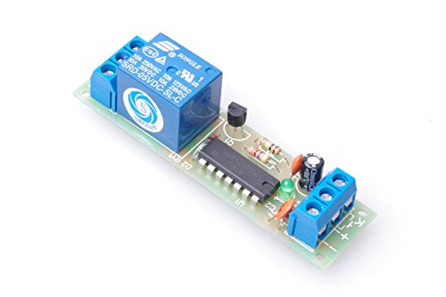 SMAKN DC 5V High Level Trigger Switch Latching Relay Module / 10A load can be controlled
