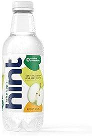 Hint Water Crisp Apple, (Pack of 12) 16 Ounce Bottles, Pure Water Infused with Crisp Apple, Zero Sugar, Zero C