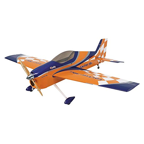 Great Planes Factor Almost-Ready-To-Fly 30cc Gasoline-Powered/Electric Aerobatic Radio Control ()