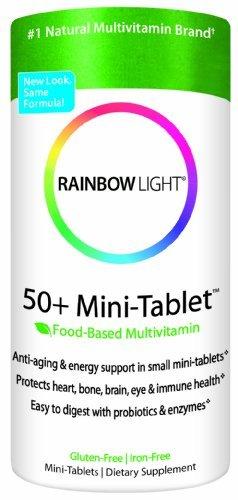 50 Minitab (Rainbow Light 50+ MiniTab Age-Defense Formula, 90 Mini-Tabs by Rainbow)