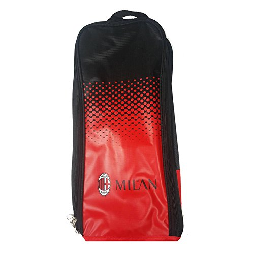 AC Milan Official Fade Football/Soccer Crest Shoe/Boot Bag (One Size) (Ac Milan Shoes)