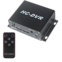 Eoncore HC-DVR Dual Card 128GB Large Storage TF / SD Card Mini DVR 1CH Video+1CH Audio H.264 HDMI USB CCTV Camera Video Recorder C-DVR