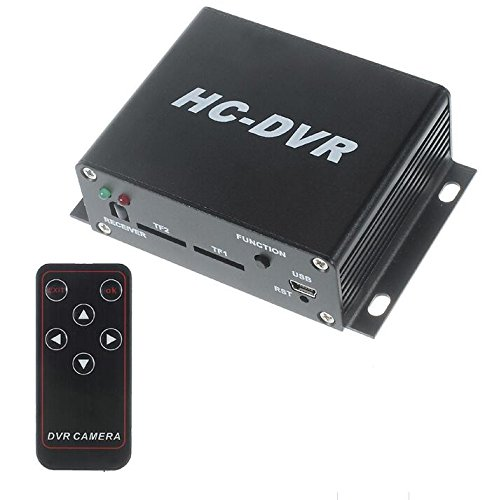 Eoncore HC-DVR Dual Card 128GB Large Storage TF / SD Card Mini DVR 1CH Video+1CH Audio H.264 HDMI USB CCTV Camera Video Recorder C-DVR by Eoncore
