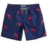 2189e6cc9b 4 · MaaMgic Mens Quick Dry Printed Short Swim Trunks with Mesh Lining  Swimwear Bathing