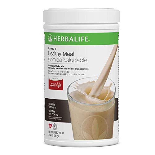 - Herbalife Formula 1 Healthy Meal Nutritional Shake Mix (Cookies 'n Cream 750 g)