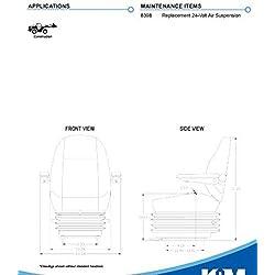 KM 1010 Uni Pro Seat and Suspension Seat Dozers, E