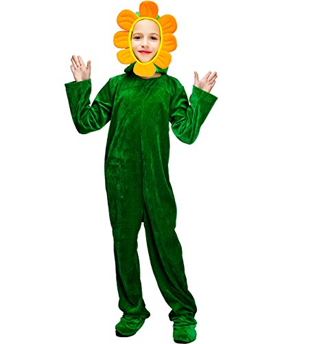 DSplay Kids Blooming Sunflower Costume -