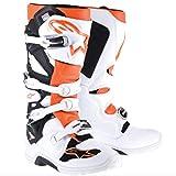 Alpinestars Tech 7 Enduro Mens MX/Offroad Boots White/Orange 7