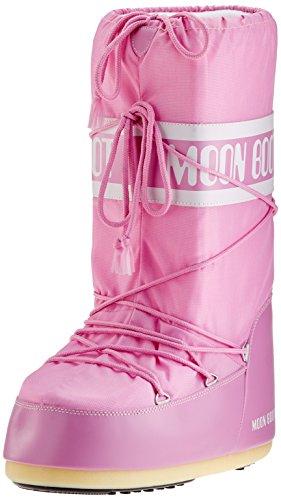 Tecnica Moon Boot Nylon, Botas de nieve Unisex adulto Rosa (Pink 063)