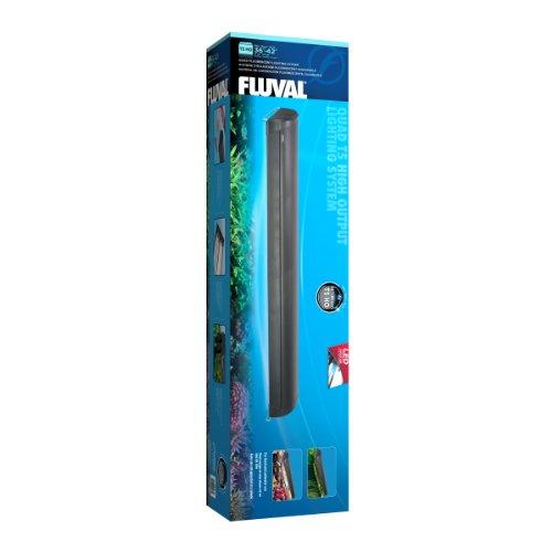 Fluval T5 Quadruple Lamp Aquarium Fixture, 36-Inch