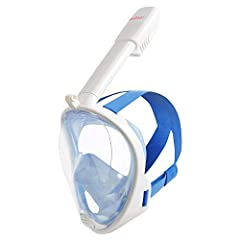"""""""After using the SeeReef full-face snorkel mask over the summer, I can honestly say this is my favorite type of snorkel. I like the fact that my face stays dry even when diving down."""" Brian R. Hellman, Chicago, USA            ..."""