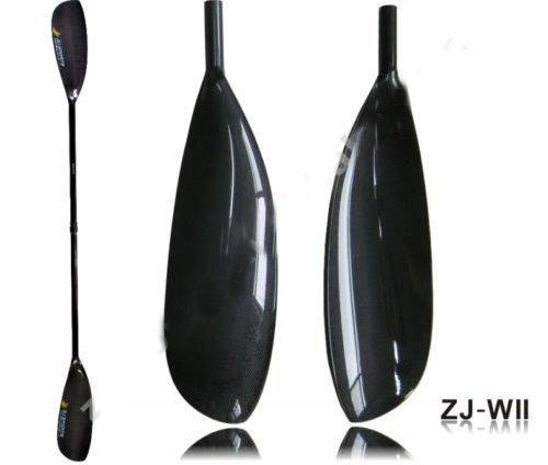 Lightweight Carbon Fiber Kayak Paddle With Oval Shaft In 10cm Length Adjustment (ZJ-WIII, 210-220CM)