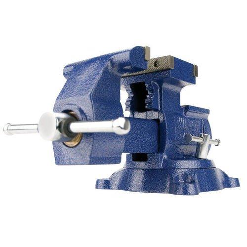Wilton 14500 4500, Reversible Mechanics Vise-Swivel Base, 5-1/2-Inch Jaw Width, 6-Inch Jaw Opening, 3-3/4-Inch Throat Depth -