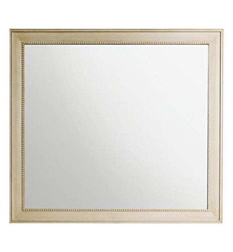 James Martin Vanities 44 in. Rectangular Mirror in Vintage Vanilla Finish