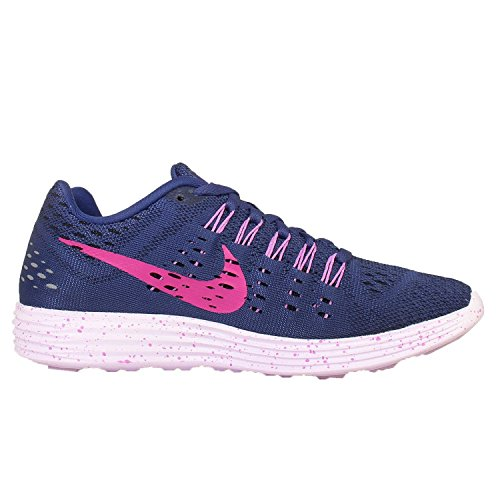 Nike Mens Lunartempo Running Shoe Deep Royal Blue / Fucsia Flash-fuchsia Glow-l,
