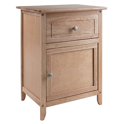 Winsome 81115 Eugene Accent Table, Natural