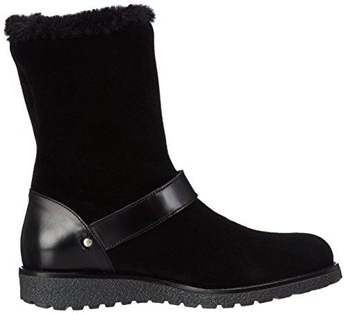 Armani JeansB55B331 - botas de caño bajo Mujer, color Negro, talla 36