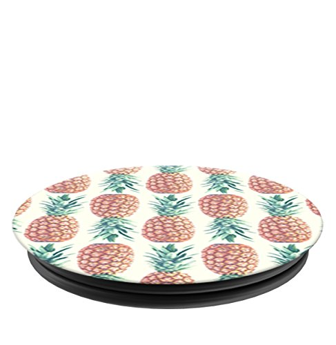 PopSockets: Collapsible Grip & Stand for Phones and Tablets - Pineapple Pattern